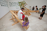 """12th Biennale of Architecture. Serbian Pavillion. """"Seesaw Play-Grow; Non-Equilibrium Ground 'SKART' (rejection)"""", 2010 by Djordje Balmazovic, Dragan Protic and Goran Petrovic."""