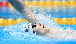 Oliver O'Halleron competes in the Men's Open 400m Individual Medley heats during day three of the 2017 British Swimming Championships at Ponds Forge, Sheffield.