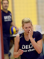 30-09-2014 ITA: World Championship Volleyball Training Nederland, Verona<br /> Laura Dijkema