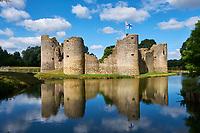 France, Vendée (85), Commequiers, le château // <br /> France, Vendée, Commequiers, the castle