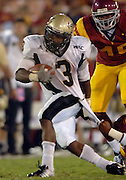 USC brings down Idaho #3 Deonte' Jackson in the 4th quarter. USC opened their season against Idaho at the Coliseum in Los Angeles, California on 9/01/07 photo by John McCoy/LA Daily News