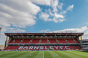 General View of stadium before the Sky Bet League 1 match between Barnsley and Scunthorpe United at Oakwell, Barnsley, England on 25 March 2016. Photo by Mark P Doherty.