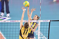 09-04-2016 ITA: CEV DenizBank Champions League Fenerbahce Grundig Istanbul - VakıfBank Istanbul, Montichiari<br /> Vakifbank wint met 3-0 en plaatst zich voor de finale / Lucia Bosetti of Fenerbahce Grundig Istanbul<br /> <br /> ***NETHERLANDS ONLY***