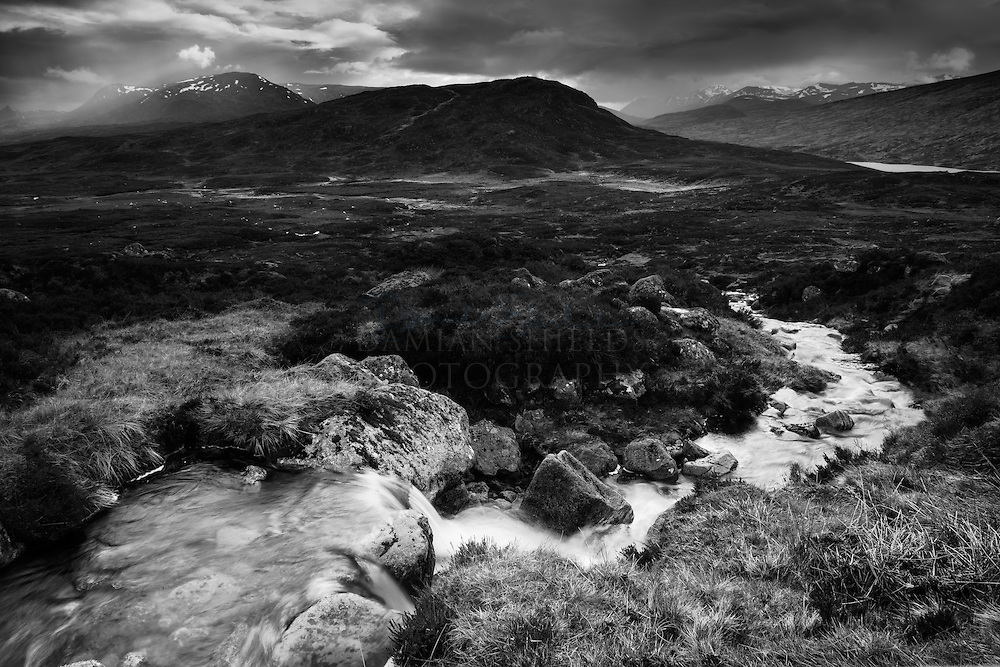 Meall na Lice from the 'road to the Isles', Corrour.