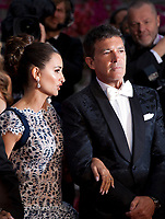 Penelope Cruz and Antonio Banderas at the Dolor Y Gloria (Pain and Glory) gala screening at the 72nd Cannes Film Festival Friday 17th May 2019, Cannes, France. Photo credit: Doreen Kennedy