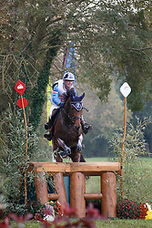 Parent Benoit, (FRA), Donita<br /> Cross country<br /> Mondial du Lion - Le Lion d'Angers 2015<br /> © Dirk Caremans<br /> 17/10/15