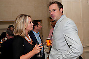 KIRSTY YOUNG; JAMIE THEAKSTON, Imogen Edwards-Jones - book launch party for ' Hospital Confidential' Mandarin Oriental Hyde Park, 66 Knightsbridge, London, 11 May 2011. <br />  <br /> -DO NOT ARCHIVE-© Copyright Photograph by Dafydd Jones. 248 Clapham Rd. London SW9 0PZ. Tel 0207 820 0771. www.dafjones.com.