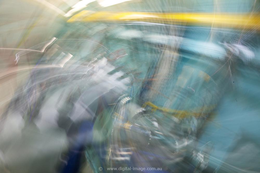 Australian Synchrotron, random Textures generated in camera.
