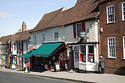 Shops on North Hill Colchester Essex