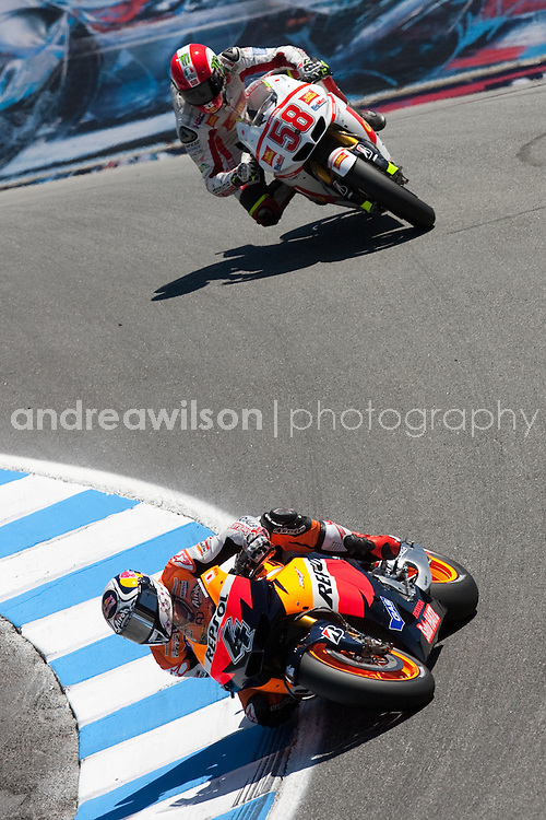 Laguna Seca - Round 10 - MotoGP - USGP -Mazda Raceway Laguna Seca - Monterey CA - July 22-24 2011:: Contact me for download access if you do not have a subscription with andrea wilson photography. ::  ..:: For anything other than editorial usage, releases are the responsibility of the end user and documentation will be required prior to file delivery ::..