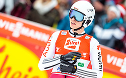 18.12.2016, Nordische Arena, Ramsau, AUT, FIS Weltcup Nordische Kombination, Skisprung, im Bild Terence Weber (GER) // Terence Weber of Germany during Skijumping Competition of FIS Nordic Combined World Cup, at the Nordic Arena in Ramsau, Austria on 2016/12/18. EXPA Pictures © 2016, PhotoCredit: EXPA/ JFK