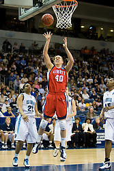 Liberty guard/forward Megan Frazee (40) shoots against ODU.  The #5 seed Old Dominion Lady Monarchs defeated the #12 seed Liberty Flames 82-62 in the first round of the 2008 NCAA Division 1 Women's Basketball Championship in Norfolk, VA on March 23, 2008