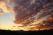 Dawn over Mount Henry & the Purcell Mountains. Yaak Valley, northwest Montana.
