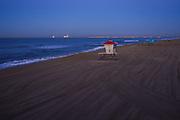 Sunrise at the Beach in Huntington Beach