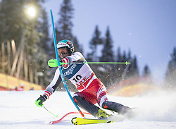 11.02.2019, Aare, SWE, FIS Weltmeisterschaften Ski Alpin, alpine Kombination, Herren, Slalom, im Bild Vincent Kriechmayr (AUT) // Vincent Kriechmayr of Austria reacts after the Slalom competition of the men's alpine combination for the FIS Ski World Championships 2019. Aare, Sweden on 2019/02/11. EXPA Pictures © 2019, PhotoCredit: EXPA/ Johann Groder