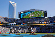 CHARLOTTE, NC - DECEMBER 14: General view of the Tampa Bay Buccaneers during the game against the Carolina Panthers at Bank of America Stadium on December 14, 2014, in Charlotte, North Carolina. The Buccaneers lost 19-17. (photo by Mike Carlson/Tampa Bay Buccaneers)