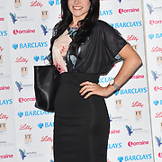 Lauren Steadman attends Women of the Year Lunch and Awards at Intercontinental Hotel Park Lane, London, UK. 15 October 2018.