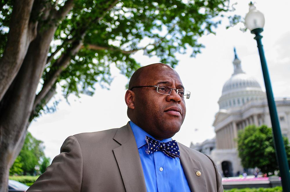 """Senator William Maurice """"Mo"""" Cowan (D-MA)"""