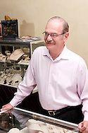 Jim Pridgen at Pridgen Jewelers in Centerville, Ohio, Saturday, August 25, 2012.