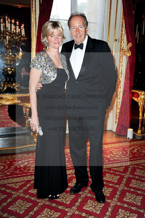 LORD & LADY BRUCE DUNDAS at a dinner hosted by HRH Prince Robert of Luxembourg in celebration of the 75th anniversary of the acquisition of Chateau Haut-Brion by his great-grandfather Clarence Dillon held at Lancaster House, London on 10th June 2010.