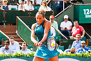Sloane Stephens (usa) during the Roland Garros French Tennis Open 2018, day 12, on June 7, 2018, at the Roland Garros Stadium in Paris, France - Photo Pierre Charlier / ProSportsImages / DPPI