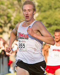 Boston College Invitational Cross Country race at Franklin Park; Ben Thomas, U Mass Amherst