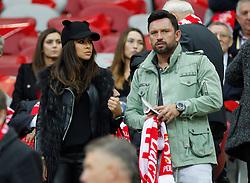 14.10.2014, Nationalstadium, Warsaw, POL, UEFA Euro Qualifikation, Polen vs Schottland, Gruppe D, im Bild NATALIA SIWIEC MARIUSZ RADUSZEWSKI // during the UEFA EURO 2016 Qualifier group D match between Poland and Scotland at the Nationalstadium in Warsaw, Poland on 2014/10/14. EXPA Pictures © 2014, PhotoCredit: EXPA/ Newspix/ Michal Chwieduk<br /> <br /> *****ATTENTION - for AUT, SLO, CRO, SRB, BIH, MAZ, TUR, SUI, SWE only*****