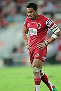 Digby Ioane. Queensland Reds v NSW Waratahs. Investec Super Rugby Round 10 Match, 24 April 2011. Suncorp Stadium, Brisbane, Australia. Reds won 19-15. Photo: Clay Cross / photosport.co.nz