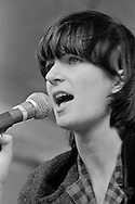 Vicky Aspinall, The Raincoats, Alexandra Palace, London 15-06-1980