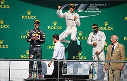 August 28, 2016 - Spa Francorchamps, Belgique - Spa  28/08/2016 GP F1 Belgique/Dimanche/Course/.Nico Rosberg N°6 Mercedes Vainqueur GP F1 De Belgique 2016 (Credit Image: © Panoramic via ZUMA Press)