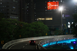 July 28, 2017 - Central Jakarta, Capital Region Of Jakarta, Indonesia - Semanggi interchanges bridge, Jakarta, which has completed the construction process and began the traffic test phase on July 28, 2017 night. The interchanges of Semanggi are a Jakarta Provincial Government project that was built during the leadership of Basuki Tjahaja Purnama as an effort to overcome traffic congestion in the capital city, at least 30%. Groundbreaking this project was conducted by Basuki Tjahaja Purnama, when he was still serving as Governor of Jakarta, on April 8, 2016. The grand launching of Semanggi interchanges is planned to be conducted by President Joko Widodo on August 17, coinciding with the anniversary of Indonesian independence. (Credit Image: © Tubagus Aditya Irawan/Pacific Press via ZUMA Wire)