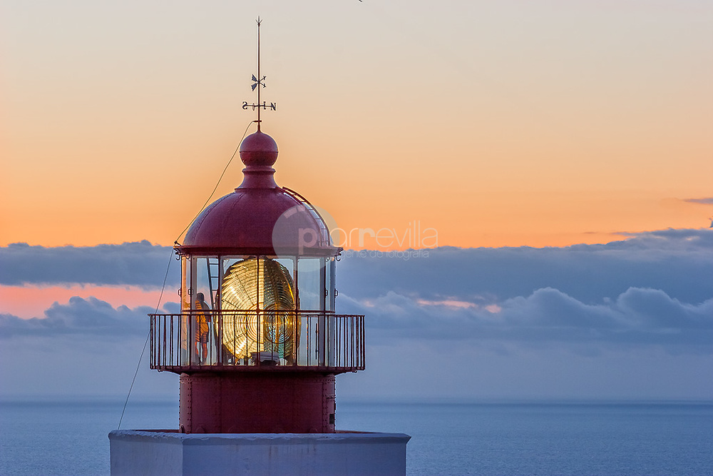 Ponta do Pargo lighthouse at sunset ©Javier Abad / PILAR REVILLA