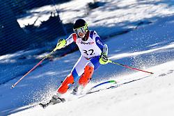 CUCHE Robin, LW9-2, SUI, Slalom at the WPAS_2019 Alpine Skiing World Cup, La Molina, Spain