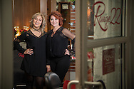"Mother and daughter Tammy and Lauren Muniz  work in their salon ""Rouge 22"" on January 2, 2017. The hairstyling duo are being recognized in Sola Salon Studios' ""2017 Faces of Sola"" campaign. © Dan Henry / BiciPhoto.com"