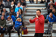 Warsaw, Poland - 2017 December 10: Trainer Jacek Multan speaks while Tenis 10 Conference of Polish Tennis Association at Orzel Tennis Club on December 10, 2017 in Warsaw, Poland.<br /> <br /> Mandatory credit:<br /> Photo by &copy; Adam Nurkiewicz / Mediasport<br /> <br /> Adam Nurkiewicz declares that he has no rights to the image of people at the photographs of his authorship.<br /> <br /> Picture also available in RAW (NEF) or TIFF format on special request.<br /> <br /> Any editorial, commercial or promotional use requires written permission from the author of image.