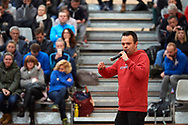 Warsaw, Poland - 2017 December 10: Trainer Jacek Multan speaks while Tenis 10 Conference of Polish Tennis Association at Orzel Tennis Club on December 10, 2017 in Warsaw, Poland.<br /> <br /> Mandatory credit:<br /> Photo by © Adam Nurkiewicz / Mediasport<br /> <br /> Adam Nurkiewicz declares that he has no rights to the image of people at the photographs of his authorship.<br /> <br /> Picture also available in RAW (NEF) or TIFF format on special request.<br /> <br /> Any editorial, commercial or promotional use requires written permission from the author of image.