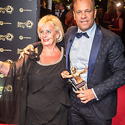 NLD/Amsterdam/20161013 - Televiziergala 2016, moeder Will en Carlo Boszhard