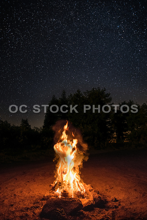 Campfire at Thomas Mountain
