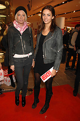 Left to right, the HON.SOPHIA HESKETH and ROSE HANBURY at a party to celebrate the opening of the new Uniqlo store at 331 Oxford Street, London W1 on 6th November 2007.<br />