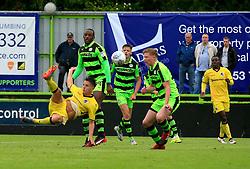 Tom Nichols of Bristol Rovers attempts a scissor kick - Mandatory by-line: Paul Roberts/JMP - 22/07/2017 - FOOTBALL - New Lawn Stadium - Nailsworth, England - Forest Green Rovers v Bristol Rovers - Pre-season friendly