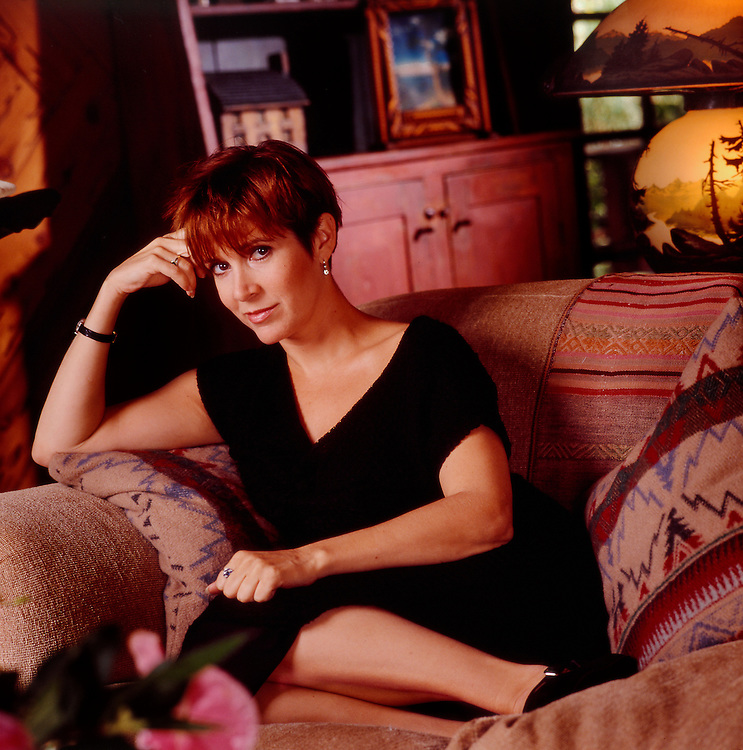 Carrie Fisher @ home <br />