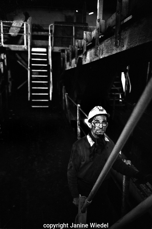 Florence Colliery in Longton Stoke-on-Trent The West Midlands UK 1978