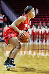 NORMAL, IL - December 04: Brianah Ferby during a college women's basketball game between the ISU Redbirds  and the Austin Peay Governors on December 04 2018 at Redbird Arena in Normal, IL. (Photo by Alan Look)