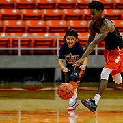 UTEP Men's Basketball Orange vs White Scrimmage, Don Haskins Center August 12, 2017