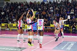 22-11-2017 ITA: Savino Del Bene Scandicci - Igor Gorgonzola Novara, Scandicci<br /> Celeste Plak #4 of Novara<br /> <br /> <br /> *** NETHERLANDS USE ONLY ***