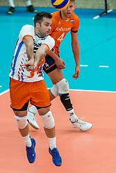 08-09-2018 NED: Netherlands - Argentina, Ede<br /> Second match of Gelderland Cup / Dirk Sparidans #5 of Netherlands