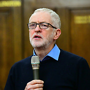 Speaker Jeremy Corbyn MP at the  Stand Up To Racism  hosts Challenging the hostile environment and racism will democracy breaking its own law with Jeremy Corbyn labelling Brexit European  stealing job, Migrant rapist, Muslim terrorists, Muslim Grooming, African/Black is a criminal or rapist, Chinese the #coronavirus and let the refugees drown at Islington Town Hall on 6 March 2020, London, UK.