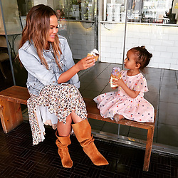 "Chrissy Teigen releases a photo on Instagram with the following caption: ""Somi Somi!"". Photo Credit: Instagram *** No USA Distribution *** For Editorial Use Only *** Not to be Published in Books or Photo Books ***  Please note: Fees charged by the agency are for the agency's services only, and do not, nor are they intended to, convey to the user any ownership of Copyright or License in the material. The agency does not claim any ownership including but not limited to Copyright or License in the attached material. By publishing this material you expressly agree to indemnify and to hold the agency and its directors, shareholders and employees harmless from any loss, claims, damages, demands, expenses (including legal fees), or any causes of action or allegation against the agency arising out of or connected in any way with publication of the material."