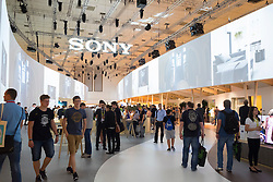 Sony stand at 2016  IFA (Internationale Funkausstellung Berlin), Berlin, Germany
