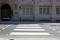 Zebra Crossing in the day
